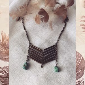 Jewelry - Boho Turquoise Necklace
